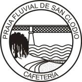 Logotipo Cafetería Praia Fluvial San Clodio